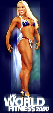 Connie Garner - fitness competitor